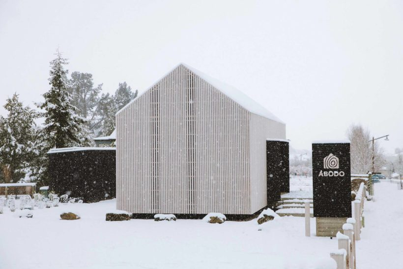 Abodo's Cardrona Cabin - the 'chapel to craft' - wins NZIA Small Projects Architecture Award - Abodo Wood