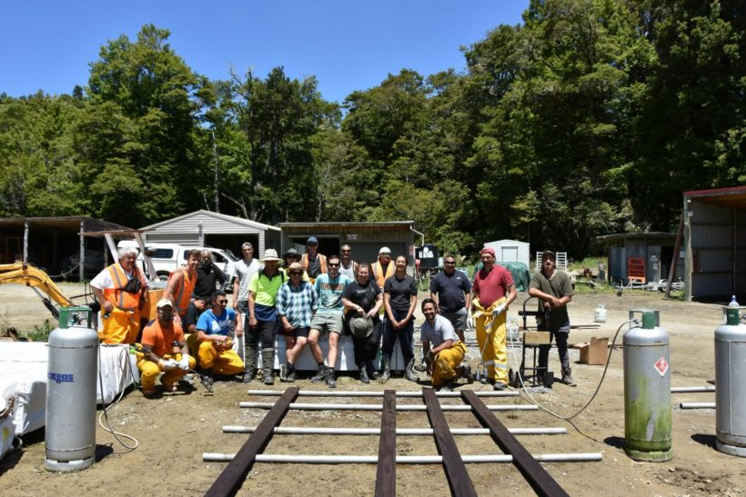 Abodo Wood Team Charred Timber Shou Sugi Ban Lake Waikaremoana