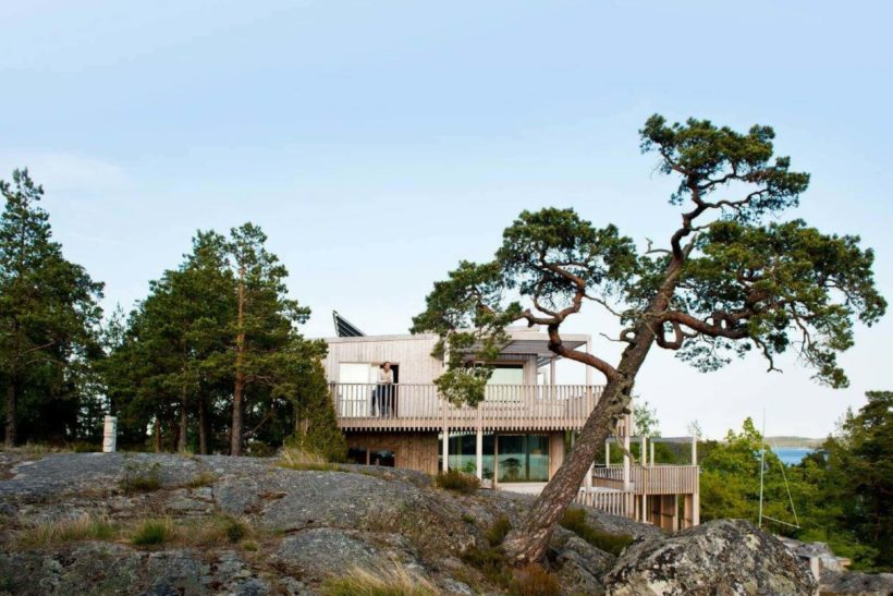 Low Maintenance Timber Cladding – Nordic Style Scioo:x