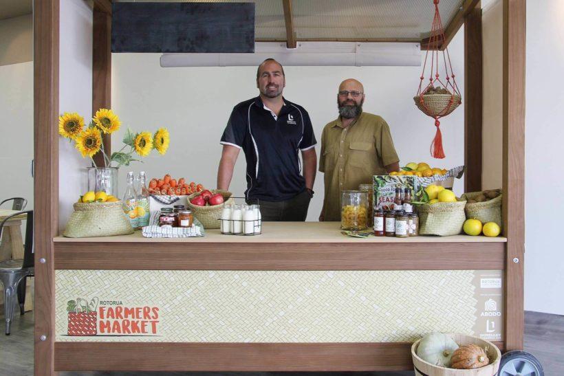 Abodo Sponsors Rotorua Farmers Market