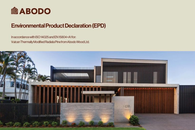 INTRODUCING: New Zealand's First Verified Carbon Negative Feature Timber - Abodo Wood