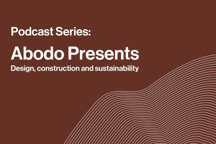 INTRODUCING- the Abodo Presents CPD Podcast Series - Abodo Wood