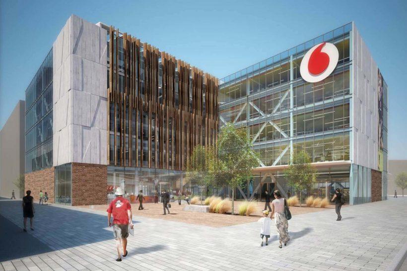 New Vodafone Christchurch Building Clad By Abodo Wood