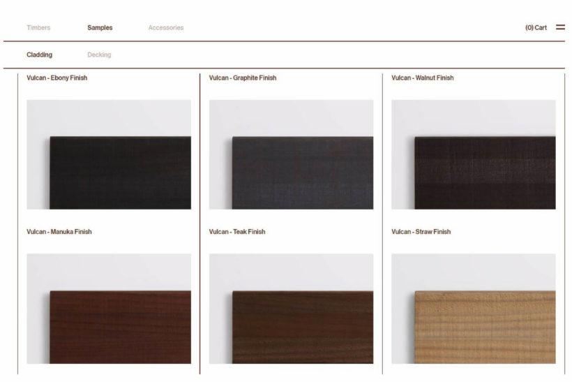 Online Shop Abodo Timber Samples