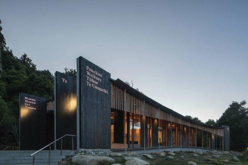 Project Revisit - Lake Waikaremoana Visitor's Centre - Abodo Wood