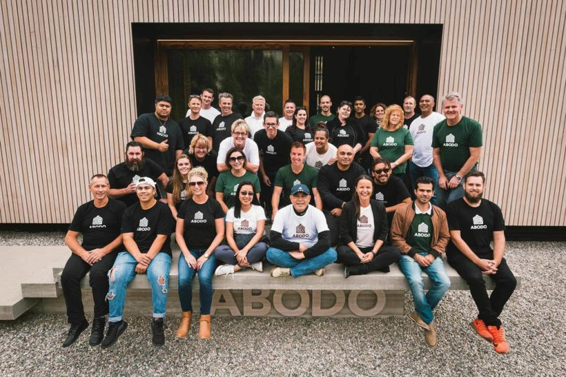 Sustainable eco timber showcase launches in Cardrona Abodo Wood 11