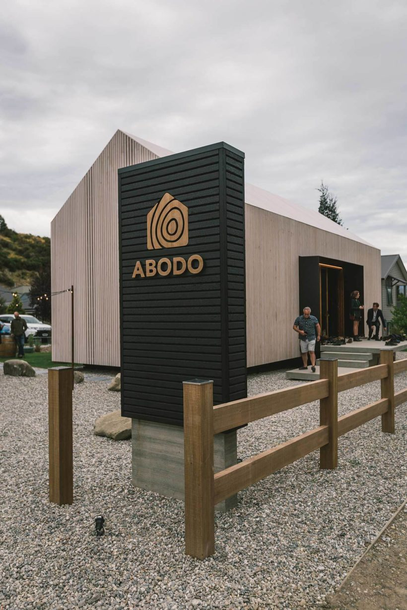 Sustainable eco timber showcase launches in Cardrona Abodo Wood 9