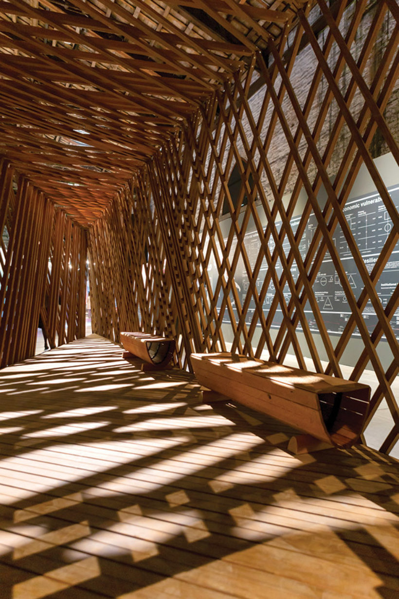 Venice Biennale Learning from Trees Abodo Wood 1