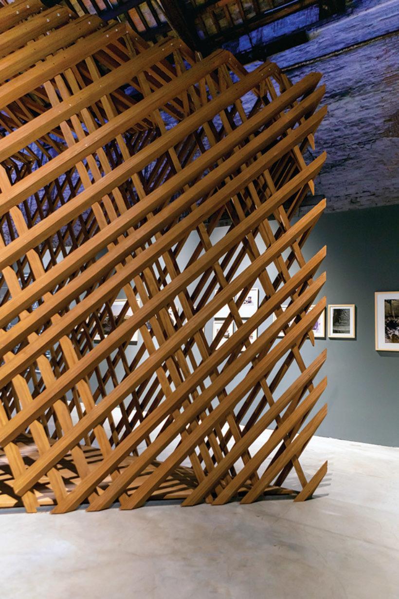 Venice Biennale Learning from Trees Abodo Wood 2