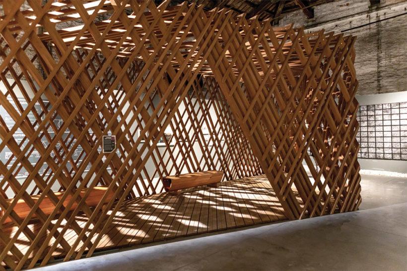 Venice Biennale Learning from Trees Abodo Wood