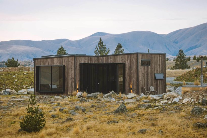 Alpine Cubes - Tundra Cladding in Iron Vitriol - Abodo Wood