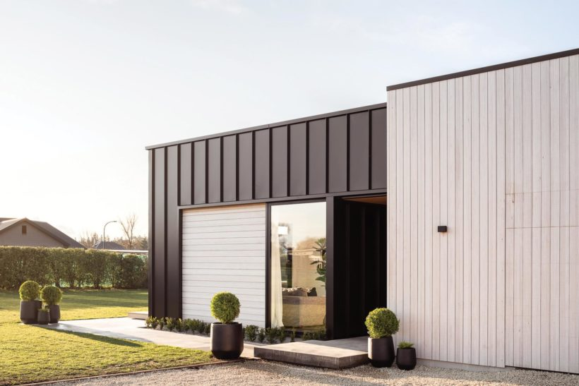 Amberley Family Home - Vulcan Cladding in Sioox Finish - Abodo Wood