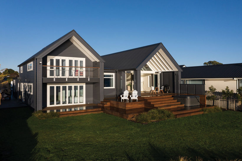 Beachlands House - Vulcan Primed Cladding - Abodo Wood