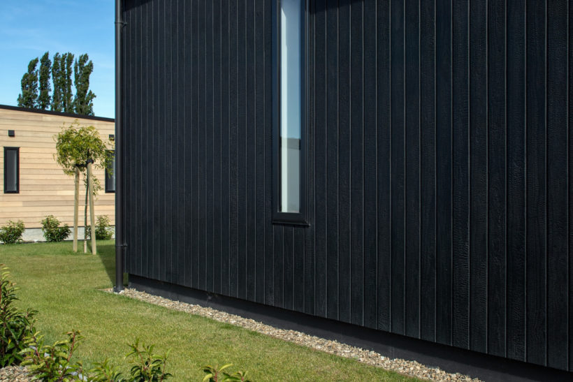 Charred Timber House - Vulcan Cladding - Abodo Wood