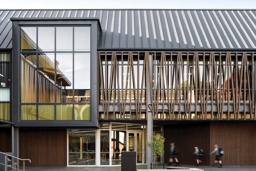 Christchurch Boys High School - Vulcan Timber - Abodo Wood