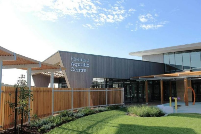 Fleurieu Aquatic Centre - Vulcan Cladding - Abodo Wood
