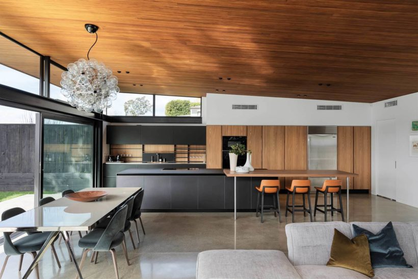Remuera House - Vulcan Panelling - Abodo Wood