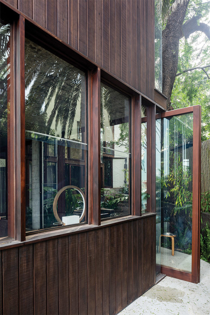 SRG House Vulcan Cladding and Vulcan Panelling Abodo Wood 11