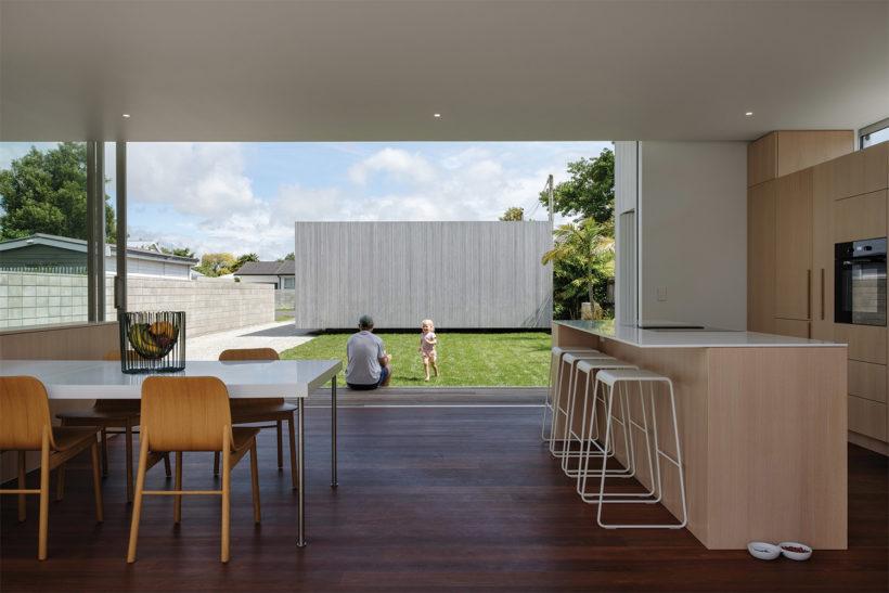 Shane Kingsbeers Gisborne home and studio - Vulcan timber - Abodo Wood