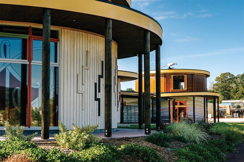 Te Hononga Hundertwasser Memorial Park - Vulcan Cladding - Abodo Wood