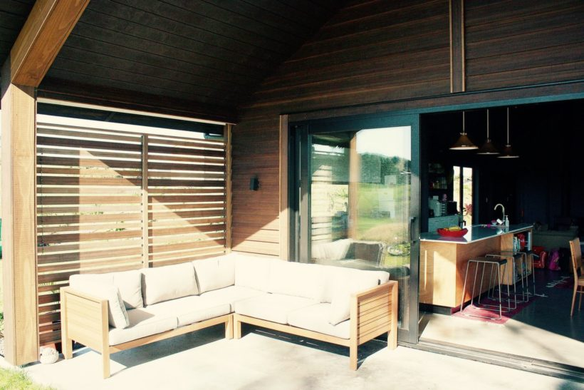 The Banks House - Vulcan Cladding - Abodo Wood