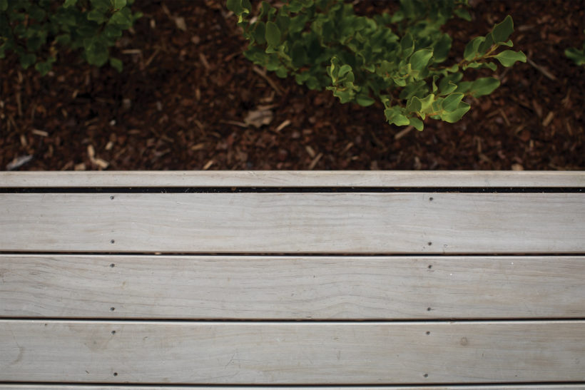 The Grounds - Vulcan Screening and Sand Decking - Abodo Wood