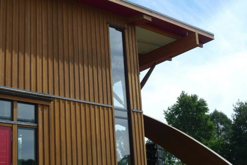 Tuhoe Headquarters - Sand Decking - Abodo Wood