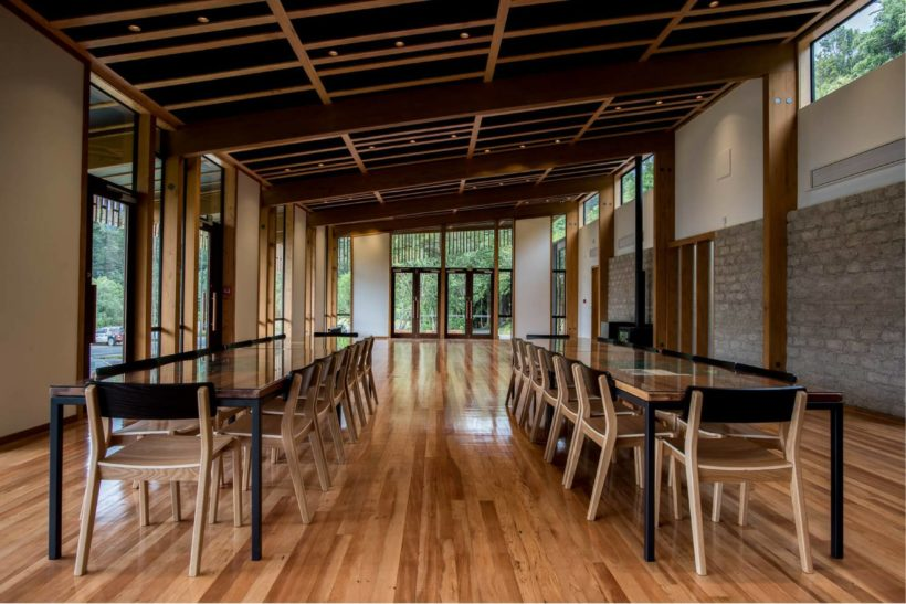 Tuhoe Waikaremoana Living Building project with Abodo Wood NZ