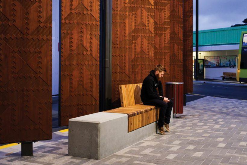 Waitohi Library and Community Hub - Vulcan Screening - Abodo Wood