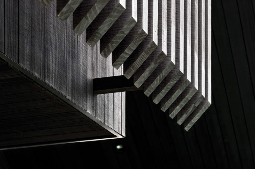 Westmere House - Vulcan Cladding and Vulcan Screening - Abodo Wood
