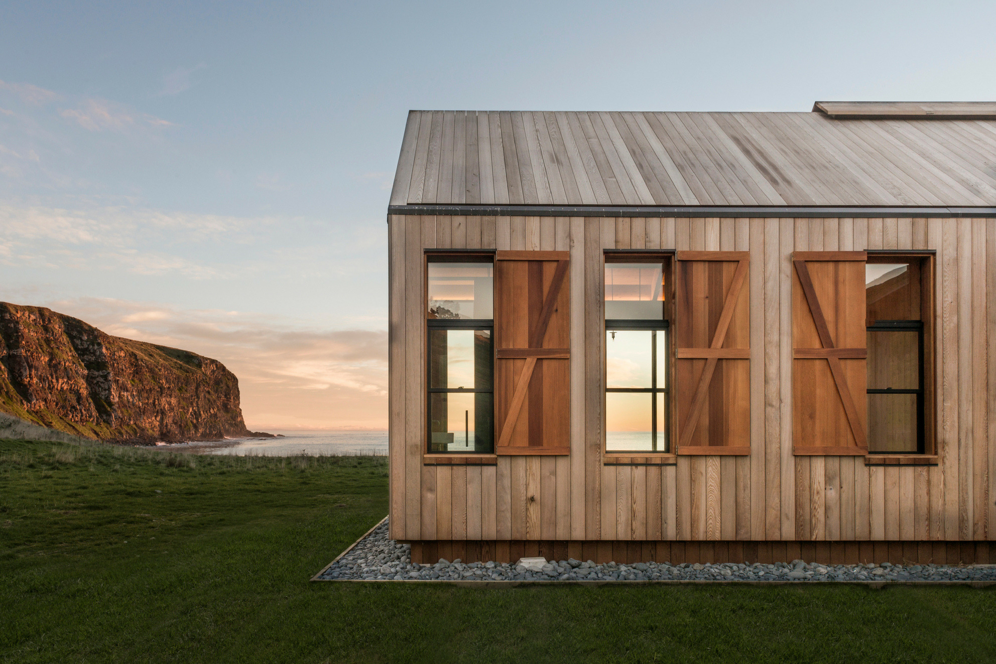 Timber Clad Roofs Simplicity Defined Abodo Wood