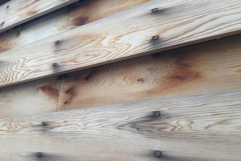 fastener oxidation a stain on timber cladding