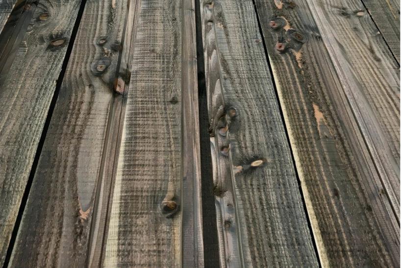 Iron Vitriol Iron Sulphate Ebonisation - Tundra Cladding - Abodo Wood