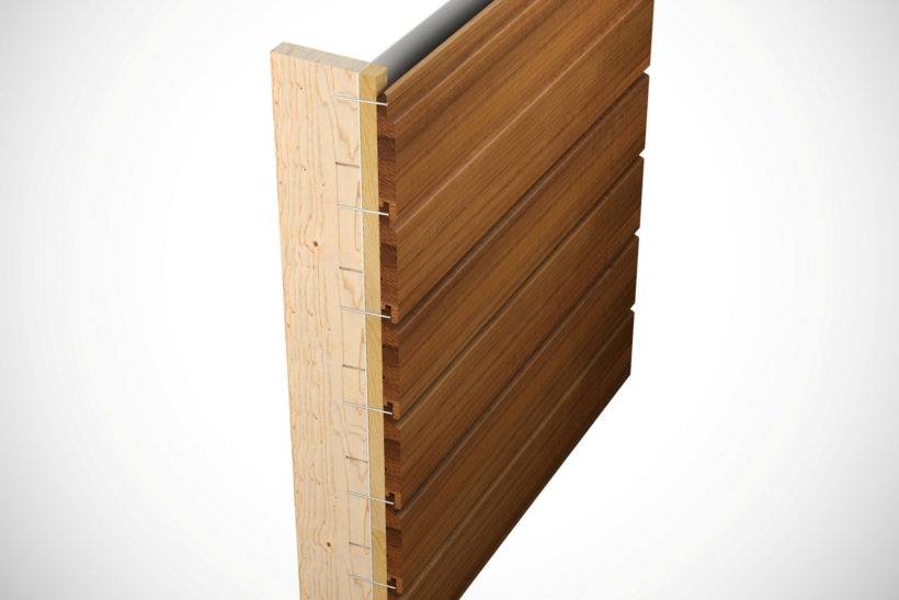 Concealed Fix Timber Weatherboards