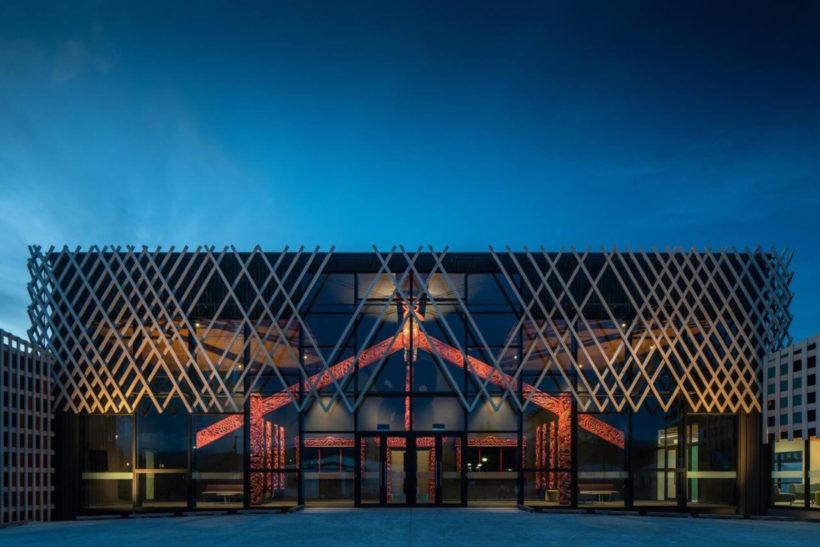 Te Ara A Tawhaki - Vulcan Screening - Abodo Wood